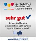 Malertest der qih - Qualität im Handwerk Fördergesellschaft mbH